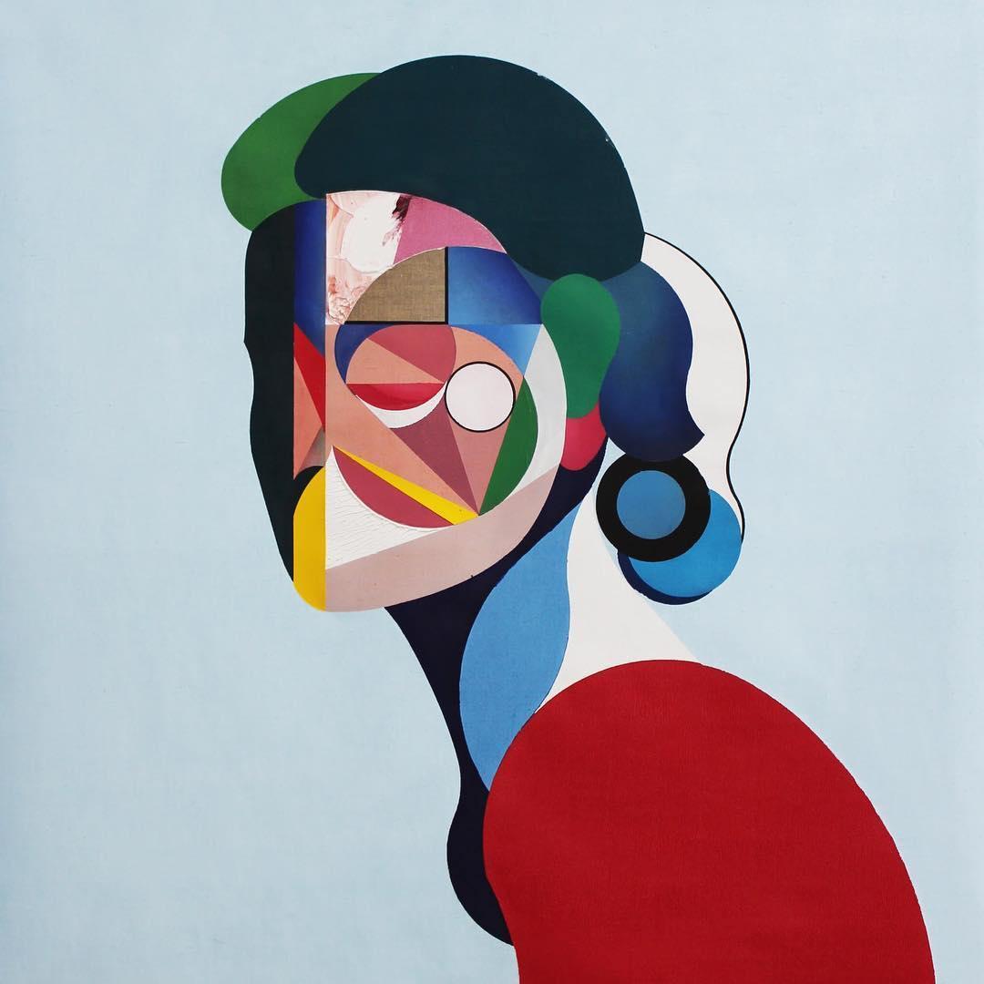 Modern Cubist Portraits