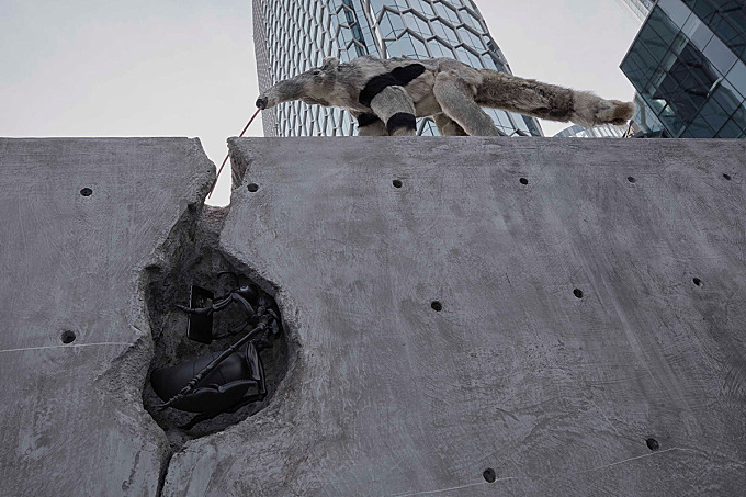 Art Sculptures Installation campaign for Tencent Video