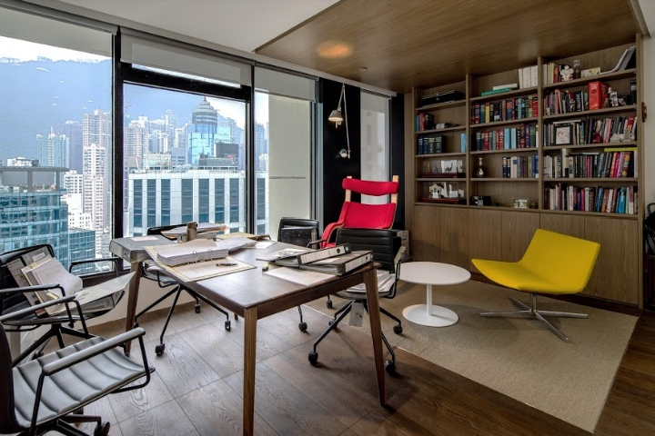 Barrister's Chamber at the Landmark by Plot Architecture Office, Hong Kong