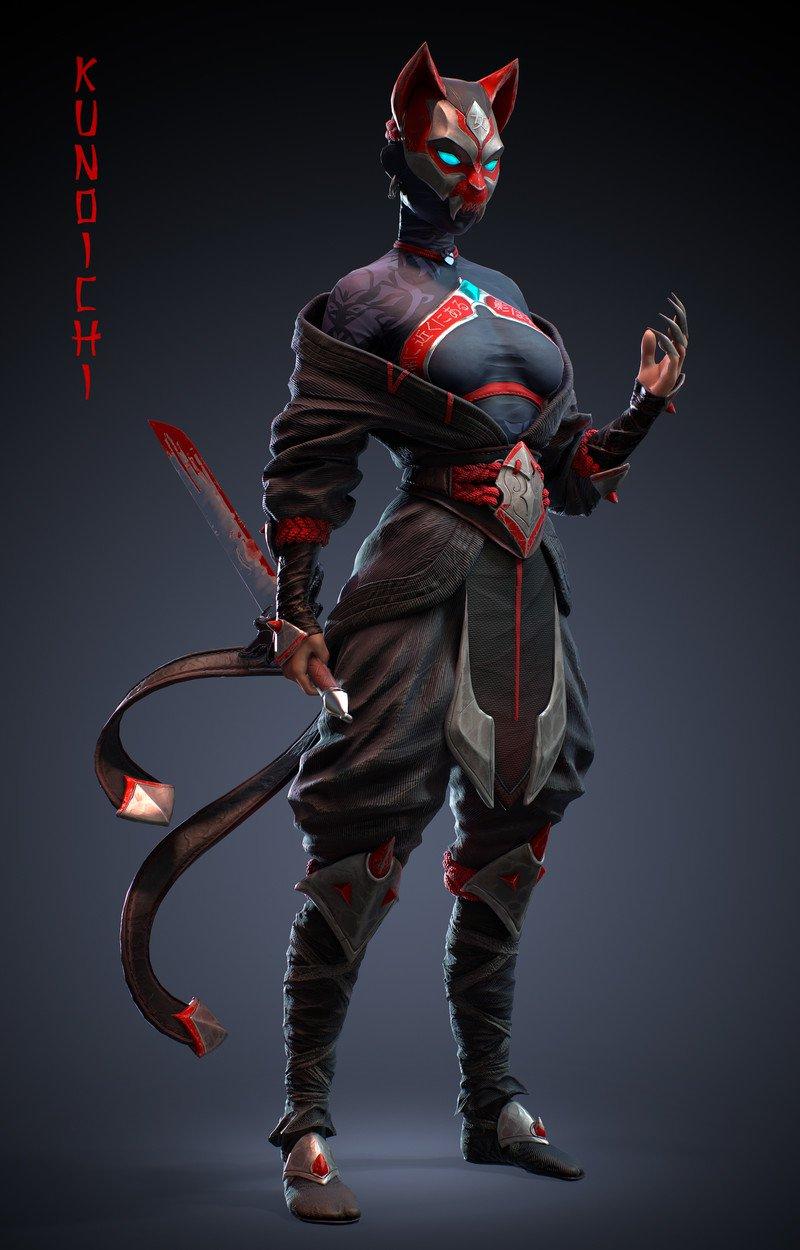 Kunoichi (Feudal Japan: The Shogunate)