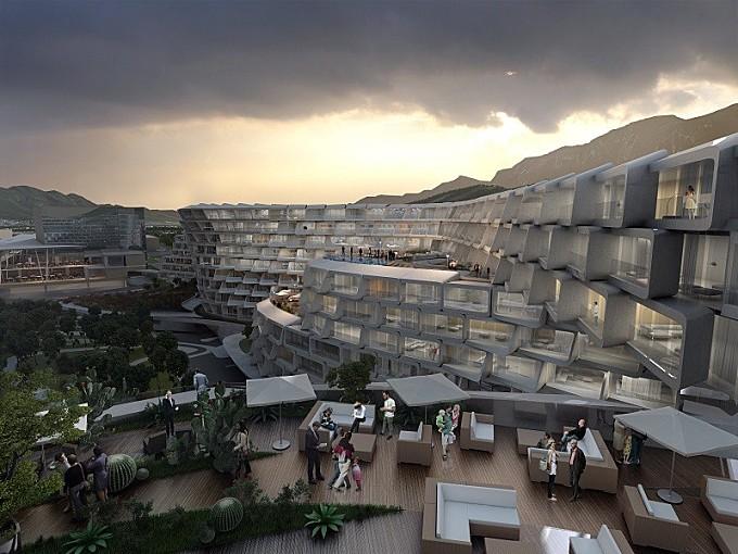 Esfera City Center – project for grandiose residential complex in Mexico