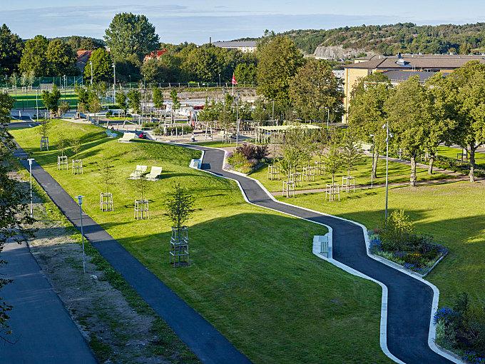 Flatås Park by 02LANDSKAP