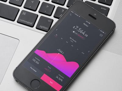 Financial App UI Concept Design