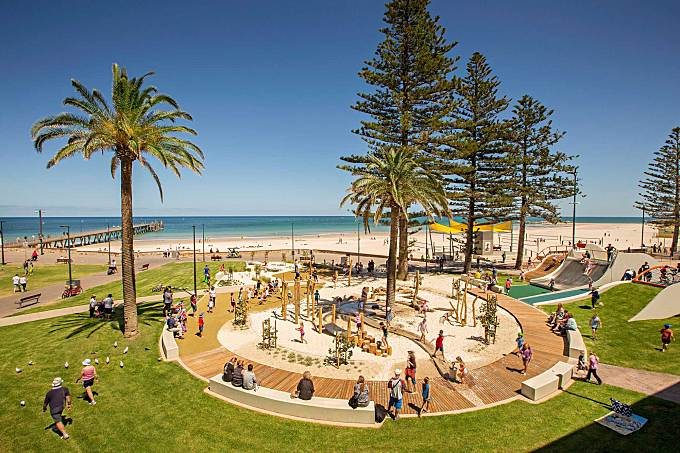 Glenelg Foreshore Playspace by Wax Design