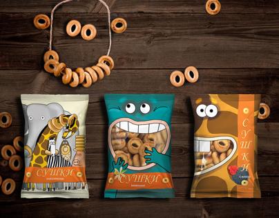 Bagels package design
