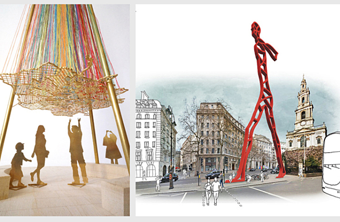 Six architects shortlisted for competition to design a 'Modern Maypole' in London