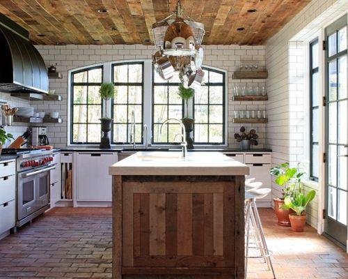 European Cottage Kitchen