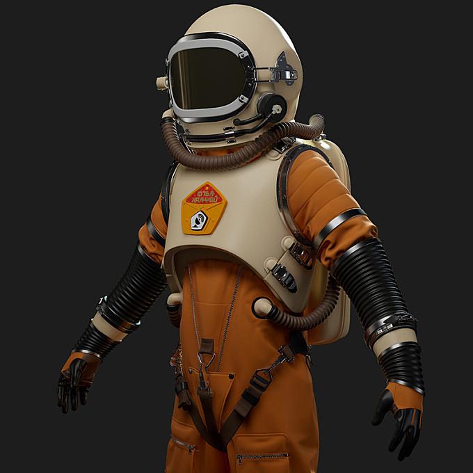 Red Matter Cosmonaut