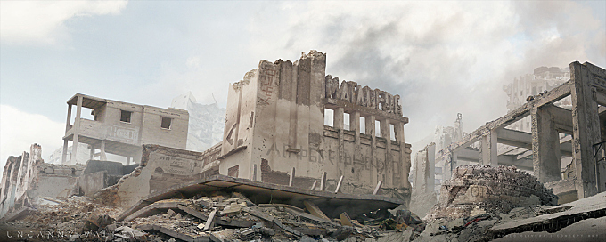 Uncanny Valley - Matte Painting