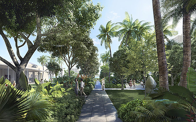 Norton Museum of Art Unveils New Plans for Sub-Tropical Green Spaces and Sculpture Garden January 23, 2018,AEDT