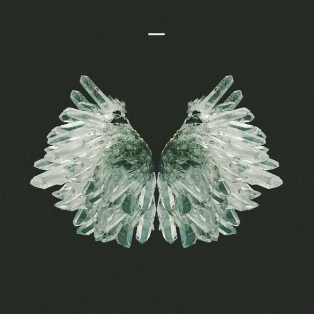 crystal wings. #quartz #album #modern #design #graphic #art #wings