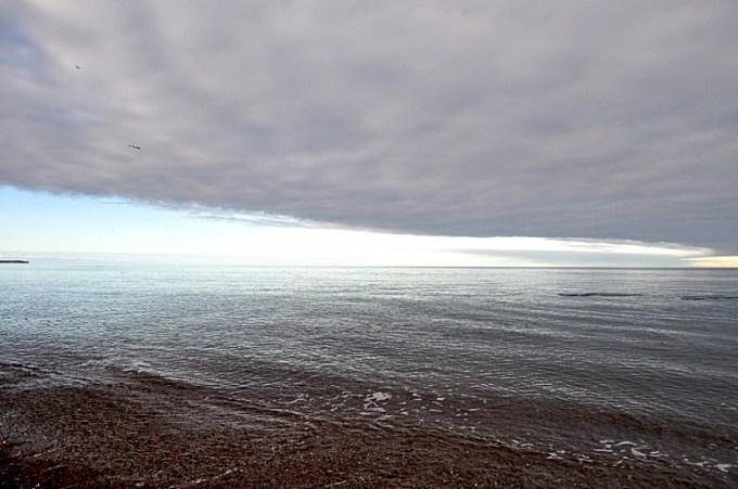 sunset, sunset, horizon, clouds, cloud, Puerto Mad