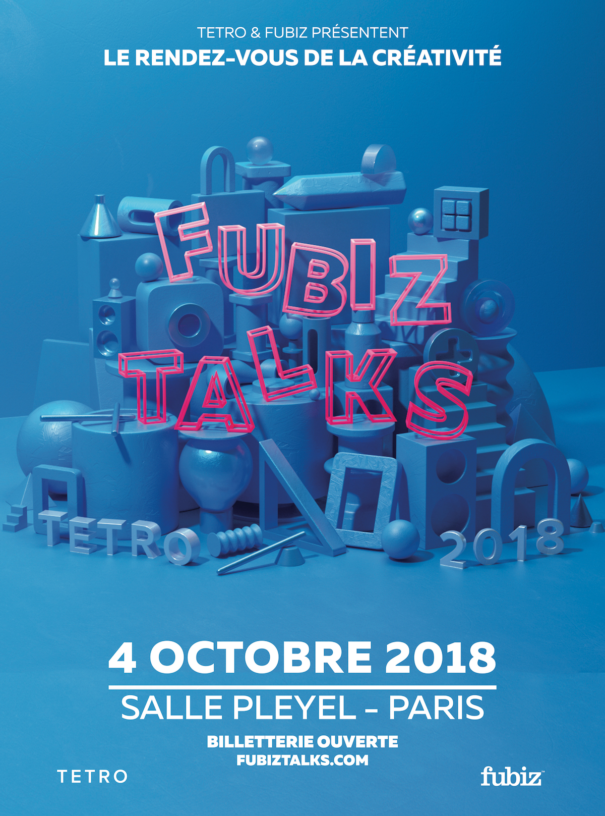 Early Birds Tickets for the Fubiz Talks 2018