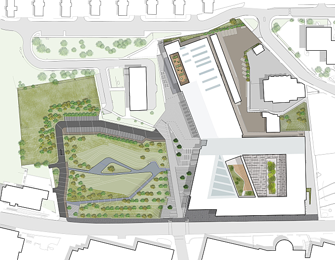 City of Glasgow College by Rankinfraser Landscape Architecture
