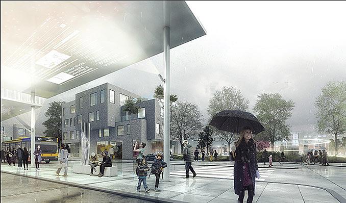 Ballerup City Centre regeneration | C.F. Møller January 5, 2017,AEDT