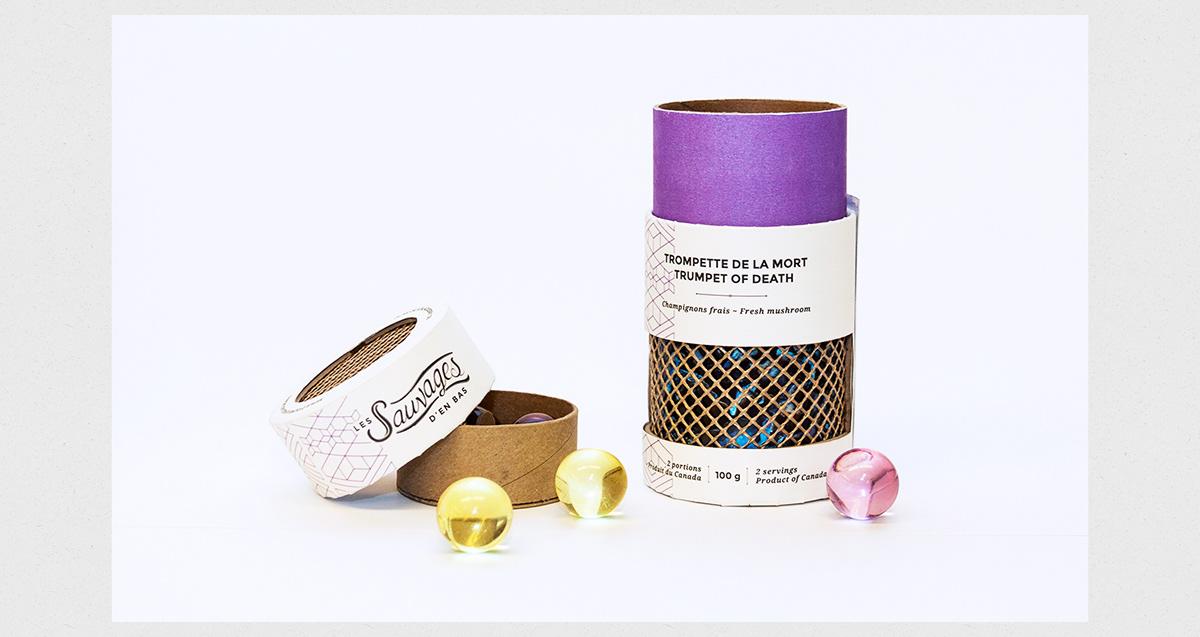Les Sauvages d'en bas - Brand & Packaging