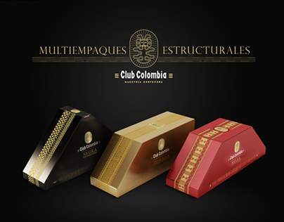 CLUB COLOMBIA - STRUCTURAL PACKAGING - CHRISTMAS 2013