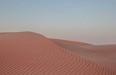 Desert has Surreal and Futuristic Shapes