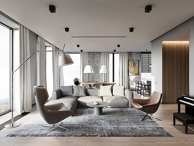 Apartment in Moscow by FonBureau