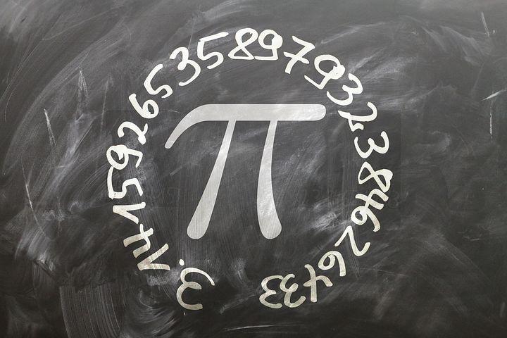 Pi, 板, 学校, 区, 直径, 广泛, 比率, 半径, 编号