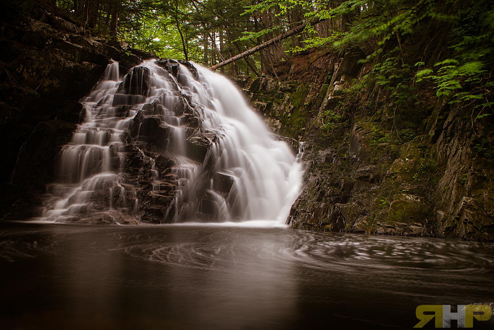 Dawson Brook Falls Moody (Explored #186 on Jun 21, 2014)
