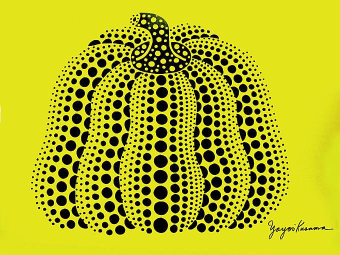 Pumplin print by Yayoi Kusama P1281
