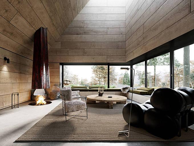 Oak Cabin by Corpus Studio