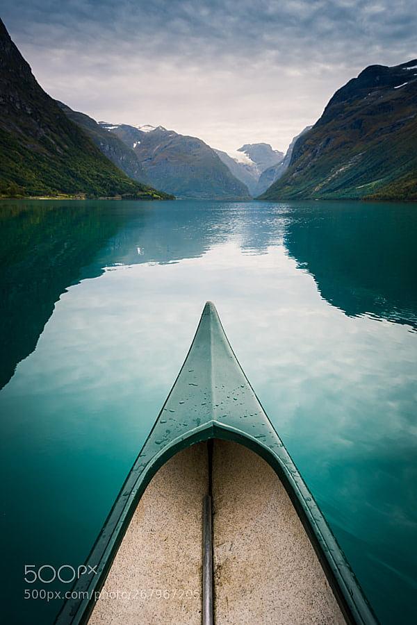 Floating on Lovatnet