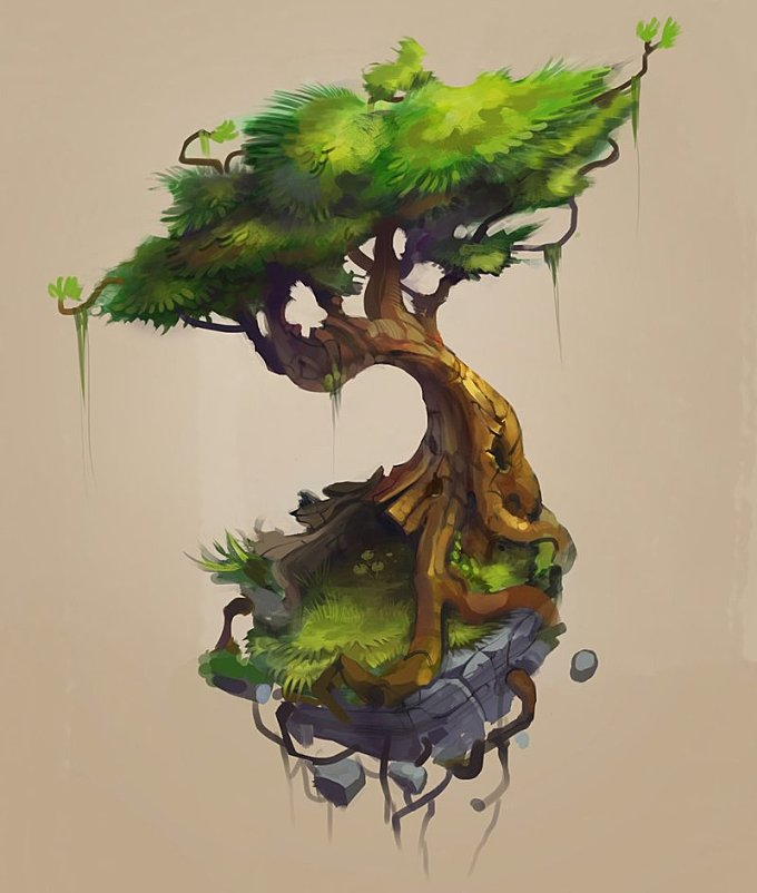 Floaty Tree
