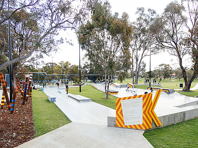 Kwinana Outdoor Youth Space   Perth, Australia   Convic March 27, 2018,AEDT