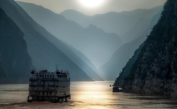 On the Yangtze River