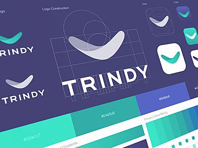 Trindy App Icon & Logo