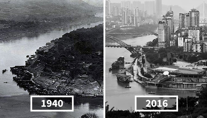 I Reshot Old Photos Of China To Show How It Changed In 100 Years