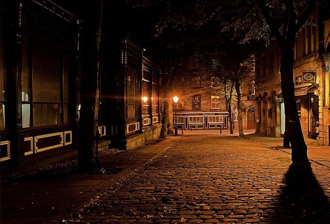 Silent Street during Night