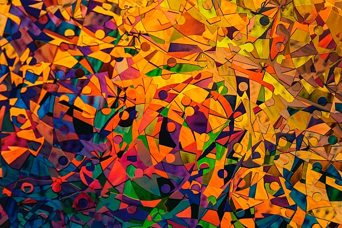 colourful abstract Painting