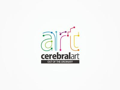 CerebralArt advertising agency logo design