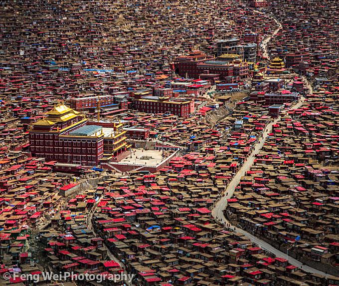 Serthar Buddhist Institute, Sichuan China