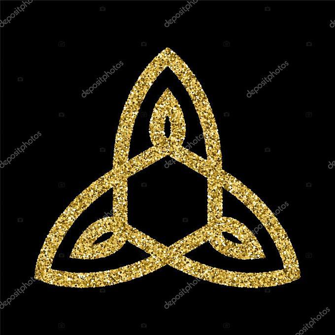 金闪闪发光标志模板