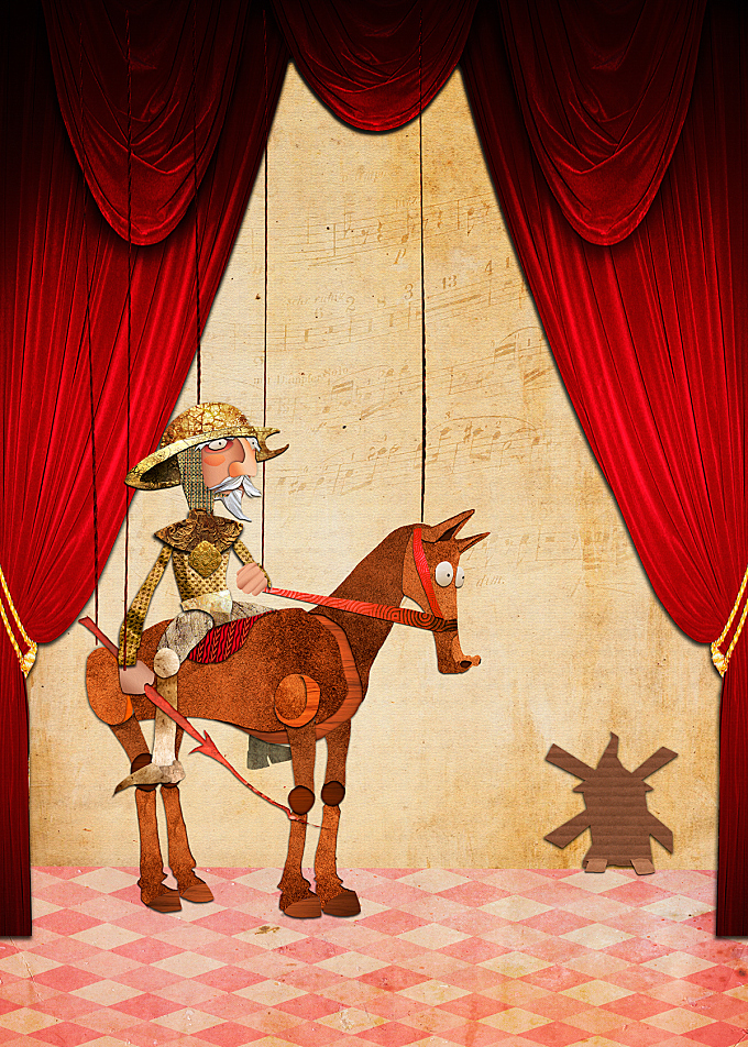 Don Quijote's Opera Poster