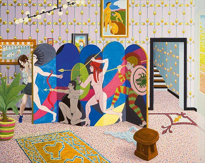 Edouard Baribeaud Makes Mythology Meets Everyday Life