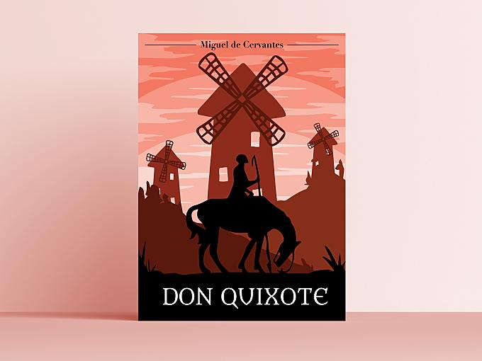 Don Quixote Cover Recreation