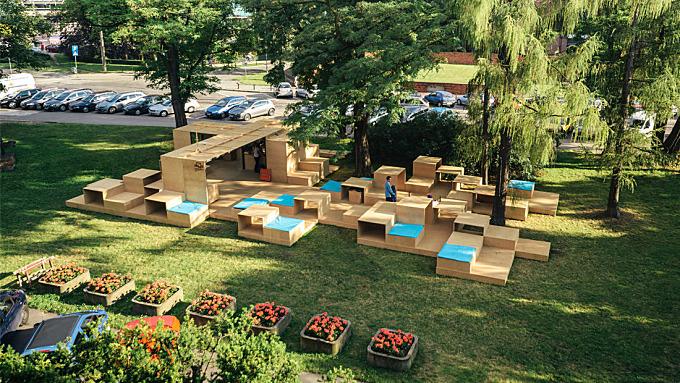 Archibox 7 pavilion