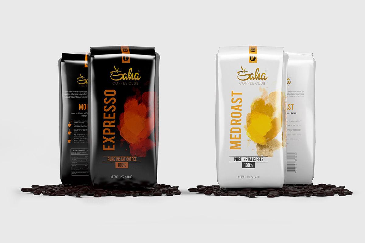Saha Bag Coffee Packing