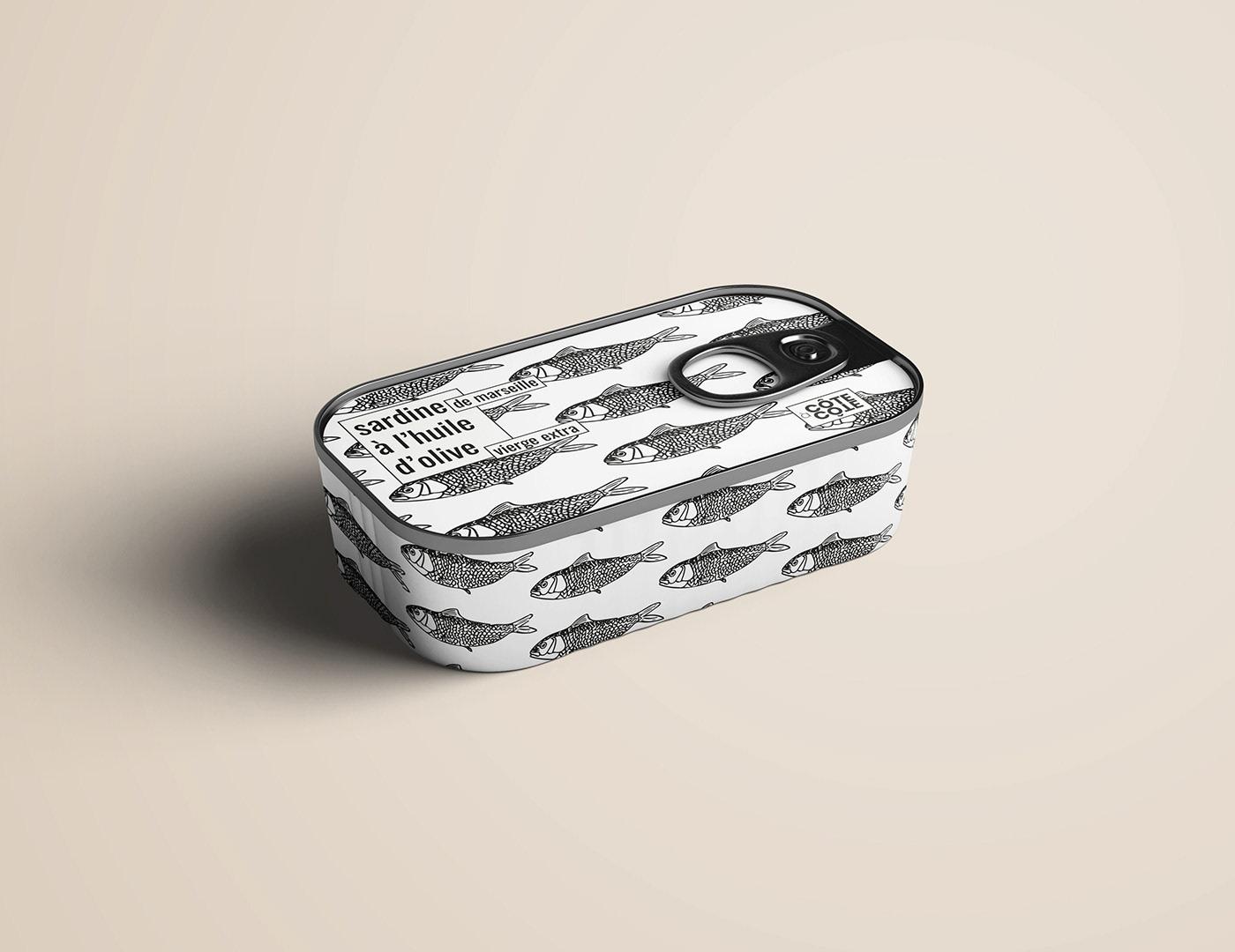 Sardine Packaging | CÔTE À CÔTE