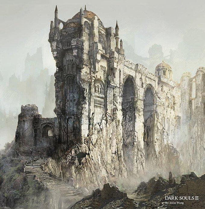 DARK SOULS III__Grand castle design 2013