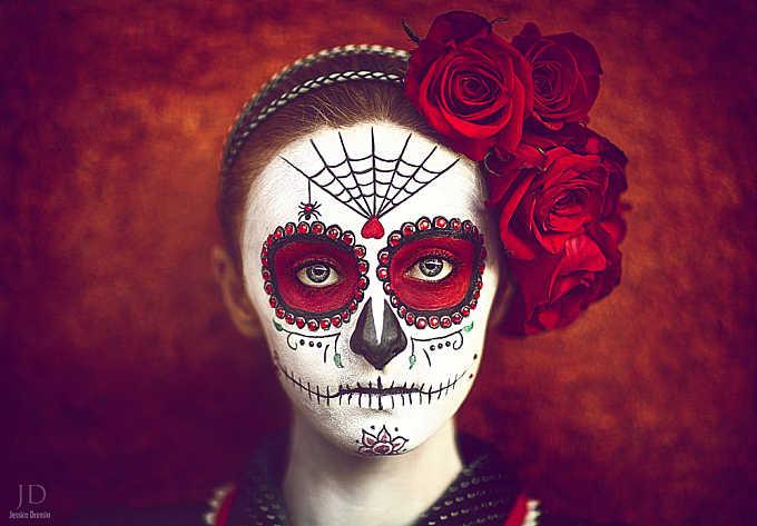 Dia de los Muertos (color version)