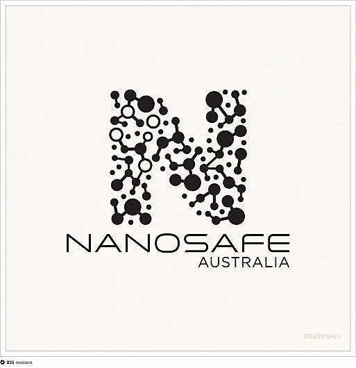 Nanosafe logo proposal #molecules #cross #resinism #nanotechnology #logo #science #southern