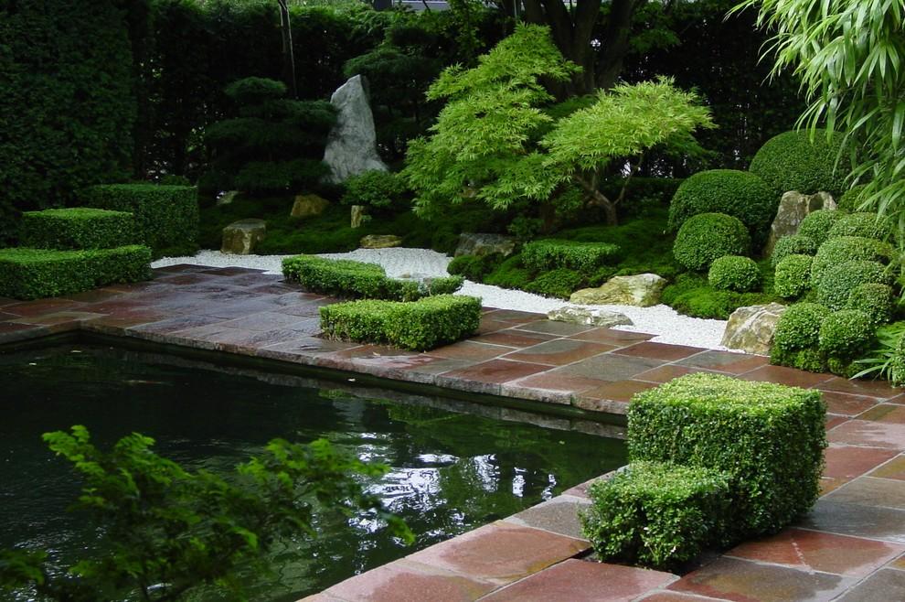 Privater Garten in Bremerhaven