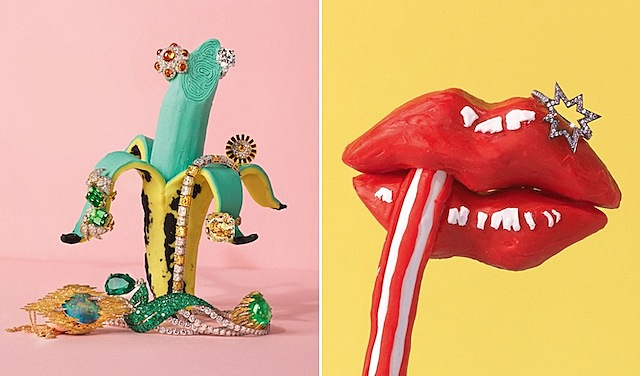 Colorful Still Lives Made With Plasticine