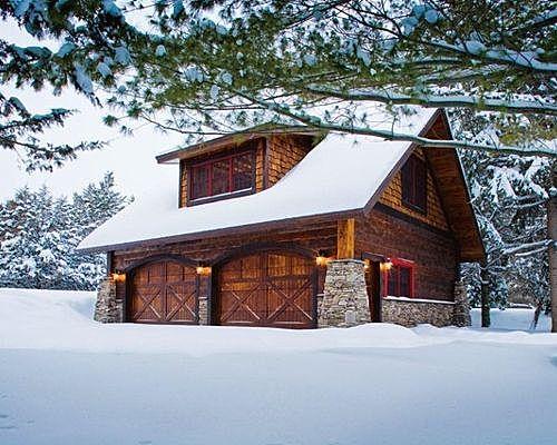 Carriage House - Lower Whitefish Lake 1 - Winter
